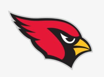 Cardinals logo.