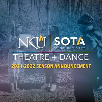 2021-2022 Theatre & Dance Season Updates