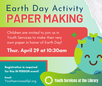 Earth Day Activity: Paper Making