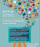 2017-2018 Kindergarten & New Student Registration