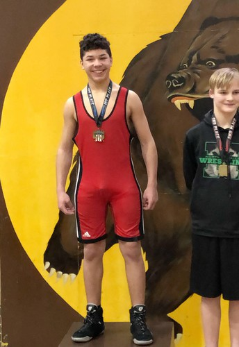 Congratulations to Skyler Morse for his City Championship win in Cub Wrestling!