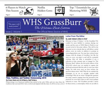 GrassBurr Newspaper is Recruiting