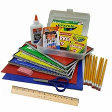 School Supplies for In Person Students