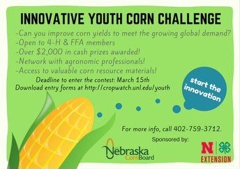 9th Annual Innovative Youth Corn Challenge