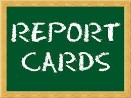 5th six weeks Report Cards