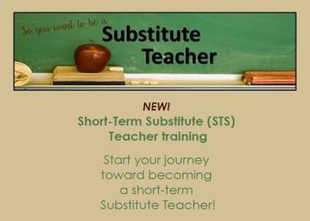 NEW! Short-Term Substitute Teacher Training