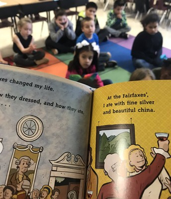 Clinton students participate in World Read Aloud Day