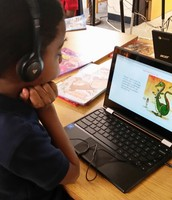 Students Learned to Use TumbleBooks