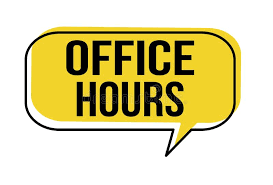 Our Maple Office is open from 7:30 am -  4 pm. Feel free to call us if you have a question@ 805-498-6748!