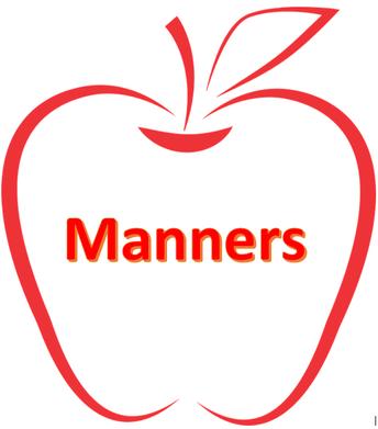 Teach children it's more than good manners!