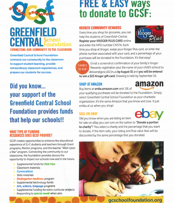 Greenfield Central School Foundation