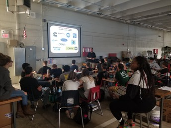 A visit from Ohio Technical College