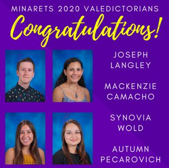 Meet the 2020 Valedictorians