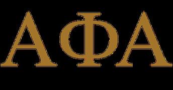Thank you Alpha Phi Alpha Fraternity, Inc.