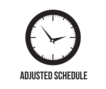 Adjusted Schedule 12/13