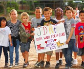 Kids Walk to Cure Diabetes - Thank You