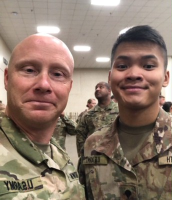 I served with Andre, 2016 Bridges Grad