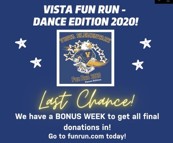 Vista Virtual Fun Run - Dance Edition
