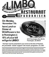 Dine for LIMBO