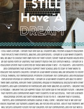 Option #2: I STILL Have A Dream Speech