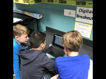 Digital Breakout, Collaboration, Critical Thinking, & Problem Solving