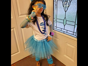 Emily Loved 80's Day So Much, It Has Become a Lifestyle!
