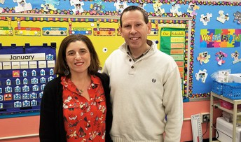Featured Teachers- Kevin Cyr and Nicole Hayes at West Elementary