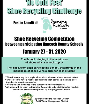 Shoe Recycling