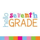 Grade 7 Info