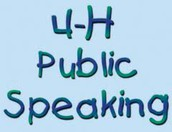 4-H Public Speaking Contest