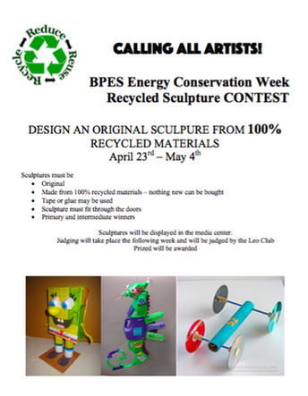 Recycled Sculpture Artists Respond to the Call!