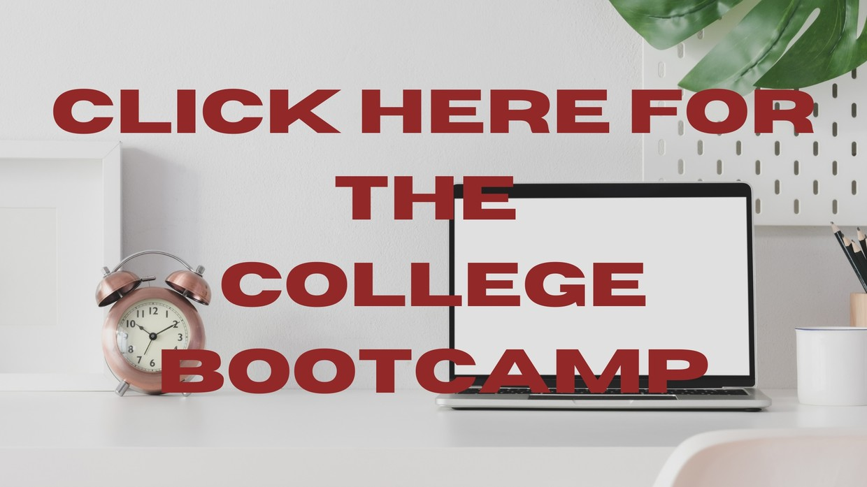 The College Bootcamp is a hub for all of the college resources you need!