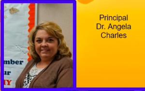 Dr. Angela Charles, Principal
