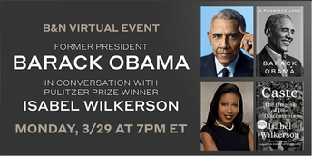 FREE ONLINE EVENT WITH BARACK OBAMA AND ISABEL WILKERSON