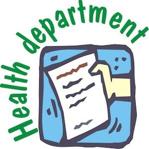 Health Department Flow Chart