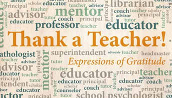 Did you know!?! This is Teacher Appreciation Week
