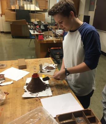 Building Volcanoes