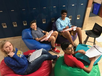 Thanks SEF for our new flexible seating!