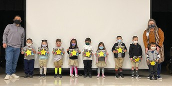 Shining Stars for the Month of March.
