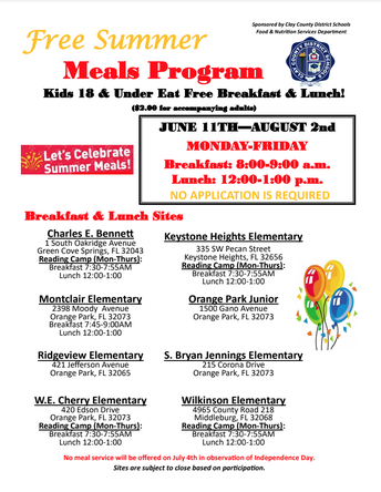 🐾 Summer Meals Program