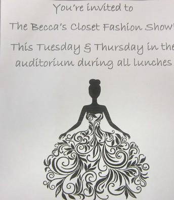 BECCA'S CLOSET FASHION SHOW