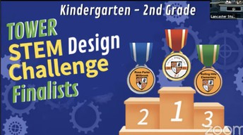 2nd Place     K-2 Stem Design Challenge