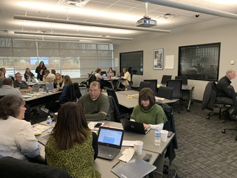 Take a close look at our GPS Staff Working on Computer Science Alignment!