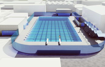 Davis Senior High School Aquatic Center
