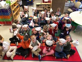 Miss Holly's Preschool Class and Mrs. Brewer's Begindergarten Class