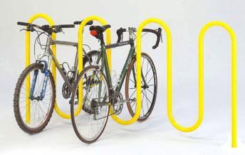 Locking up Bikes