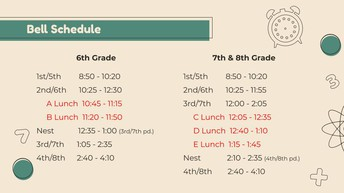 New Class Schedule - Virtual & F2F