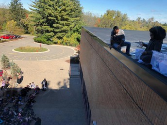Egg Drop during Science Field Day