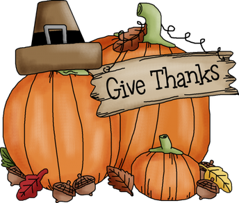 RSVP for the Thanksgiving Feast by Nov. 13