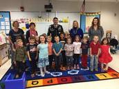 1st Sgt Sean Fitzgerald & Mrs. Strauss Class